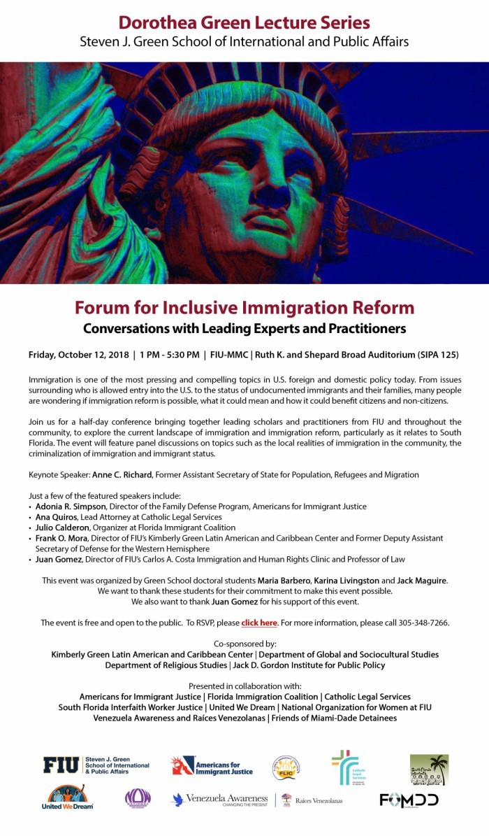 Forum for Inclusive Immigration Reform | Kimberly Green